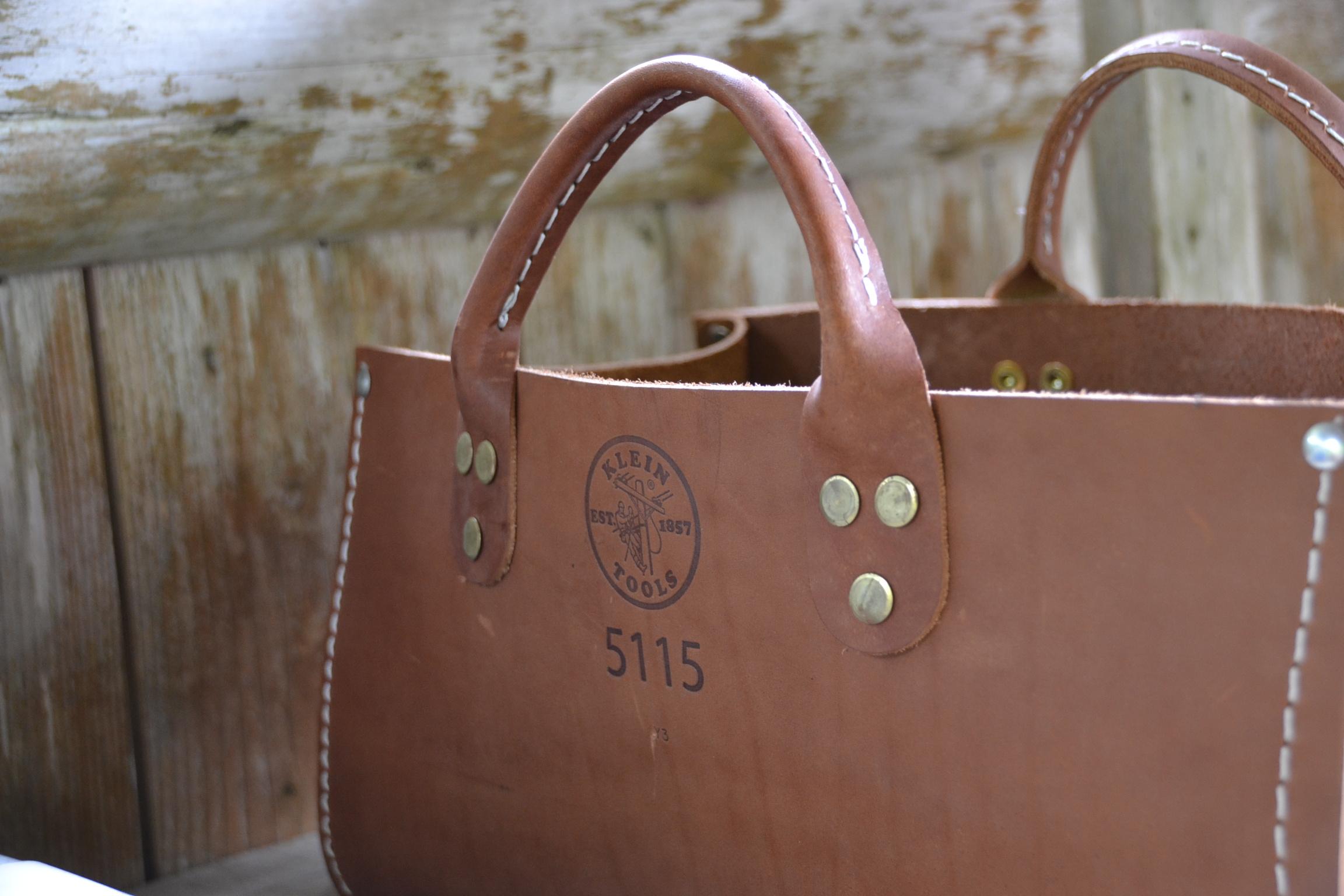 クラインツール 革 バッグ