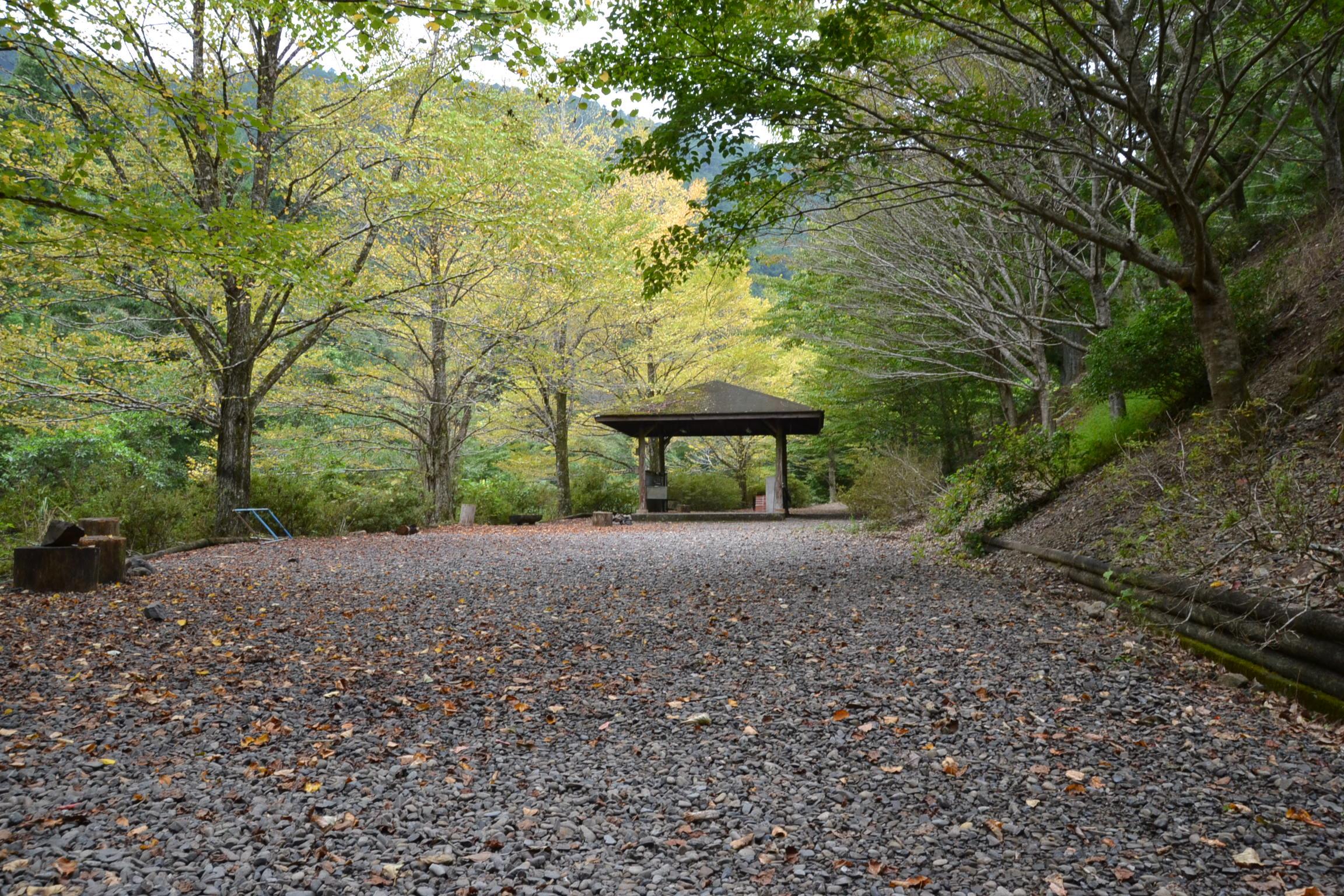 松葉川林間キャンプ場 松葉川温泉