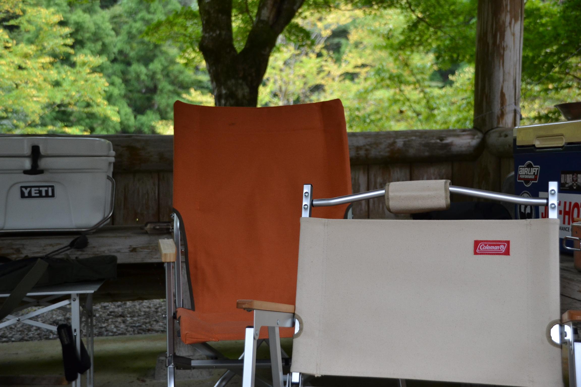 スノーピーク コールマン 椅子