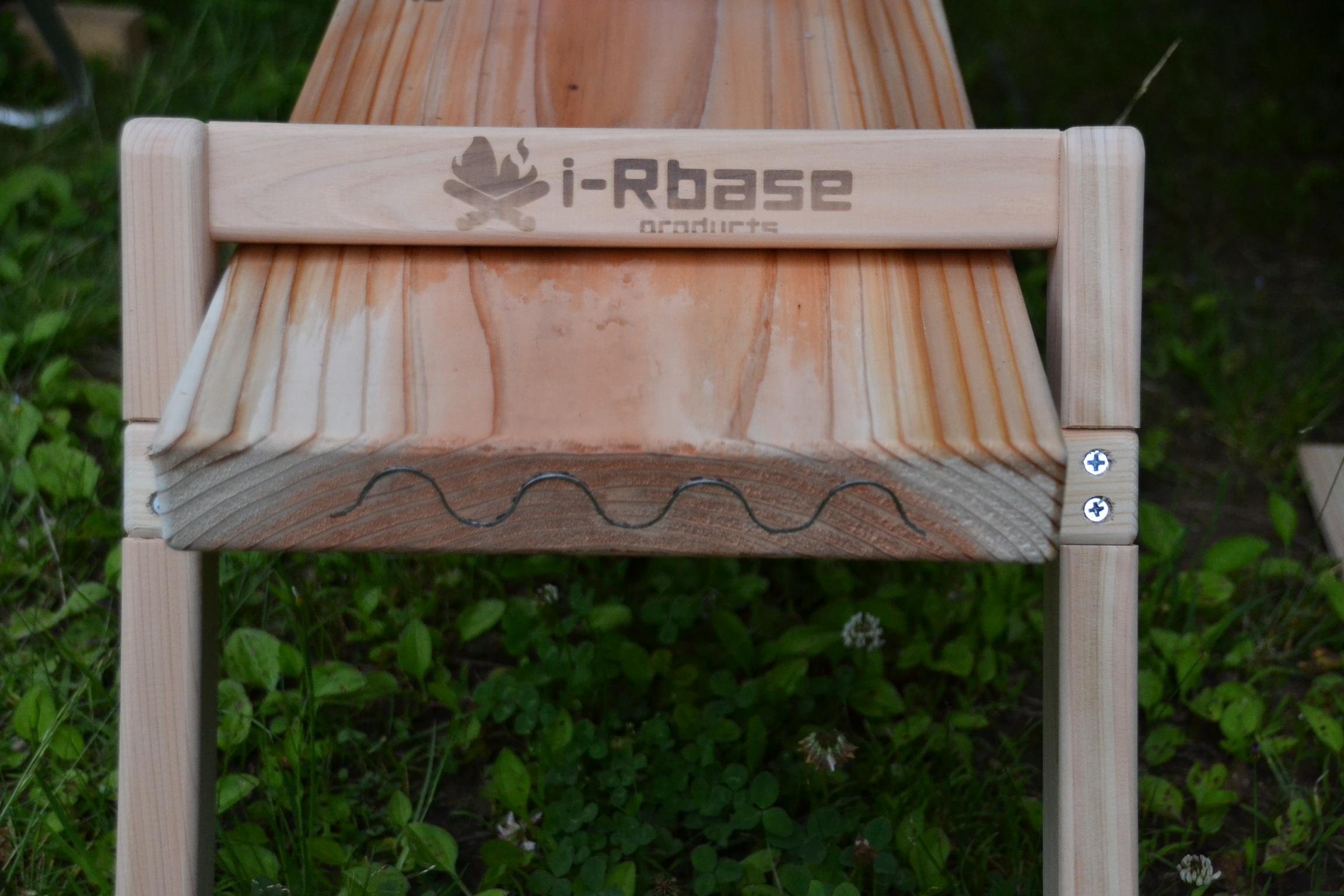 i-RBASE PRODUCT ウッドベンチチェアLow